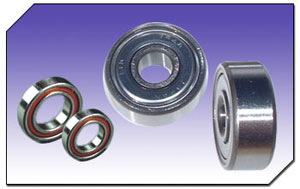 Single Row Angular Ball Bearings